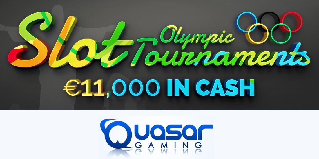 Novomatic slot tournament at Quasar Gaming